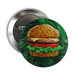 """Tropical Cheeseburger 2.25"""" Button"""