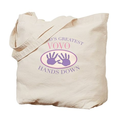 Best VoVo Hands Down Tote Bag