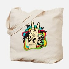 Cute Fingers hand Tote Bag