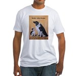 Border Collie Wisdom Fitted T-Shirt