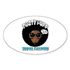 Tasty Puff Oval Decal