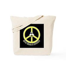 Give Bees A Chance Dark Tote Bag