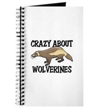 Crazy About Wolverines Journal