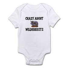 Crazy About Wildebeests Infant Bodysuit