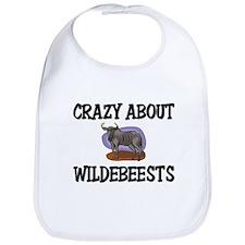 Crazy About Wildebeests Bib