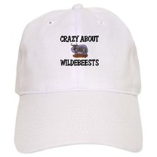 Crazy About Wildebeests Baseball Cap