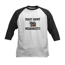 Crazy About Wildebeests Tee