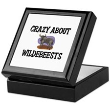 Crazy About Wildebeests Keepsake Box