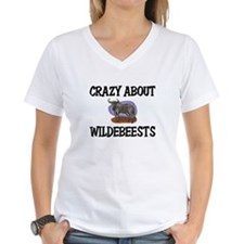 Crazy About Wildebeests Shirt