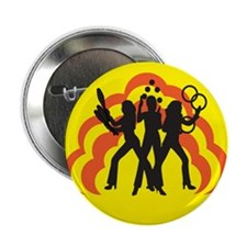 "Juggle Angels (yellow) 2.25"" Button"