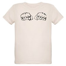 Drum and Bass Fists T-Shirt