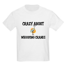 Crazy About Whooping Cranes T-Shirt