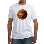 oma logo Fitted T-Shirt