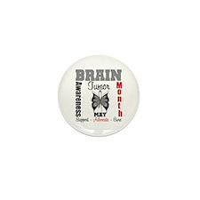 BrainTumorAwareness Mini Button (10 pack)