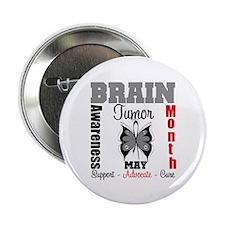 """BrainTumorAwareness 2.25"""" Button (10 pack)"""