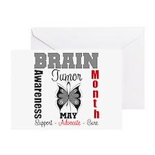 BrainTumorAwareness Greeting Card