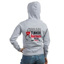 Brain Tumor Month Zip Hoody