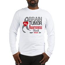 Brain Tumor Month Long Sleeve T-Shirt