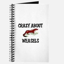 Crazy About Weasels Journal