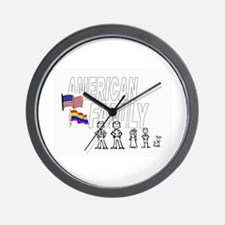 2 DADS Wall Clock