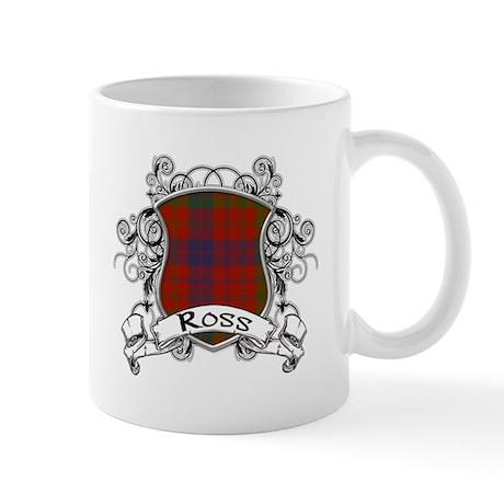 Ross Tartan Shield Mug