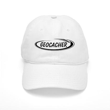 Black Geocacher Pizzaz Cap