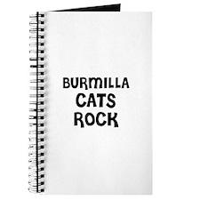 BURMILLA CATS ROCK Journal