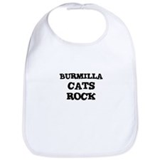 BURMILLA CATS ROCK Bib