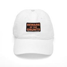 Beware / Grunt Baseball Baseball Cap