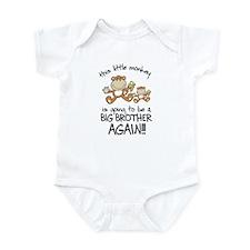big brother t-shirts monkey Infant Bodysuit