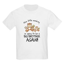 big brother t-shirts monkey T-Shirt
