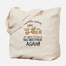 big brother t-shirts monkey Tote Bag