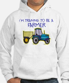I'm Training To Be A Farmer Jumper Hoody