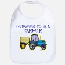 I'm Training To Be A Farmer Bib