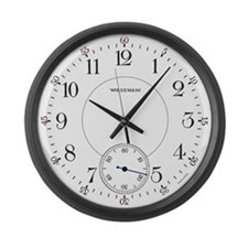 Waltham Railroad Pocket Watch 1 Large Wall Clock
