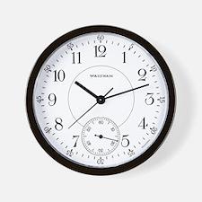 Waltham Railroad Pocket Watch 1 Wall Clock