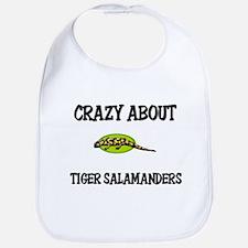 Crazy About Tiger Salamanders Bib