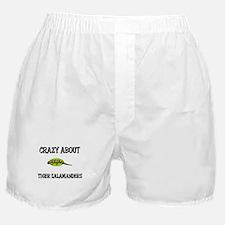 Crazy About Tiger Salamanders Boxer Shorts