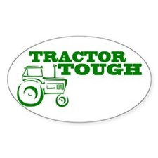 Tractor Tough Oval Decal