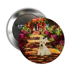 "Path / Scottie (w) 2.25"" Button"