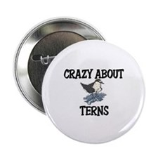 "Crazy About Terns 2.25"" Button"