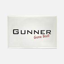 Bad Gunner Rectangle Magnet