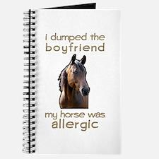Boyfriend Allergic Horse Journal