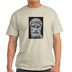 Epicurus Self Control Ash Grey T-Shirt