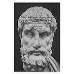 Epicurus Self Control Large Poster
