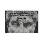 Epicurus Self Control Rectangle Magnet (100 pack)