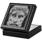 Epicurus Self Control Keepsake Box