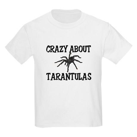 Crazy About Tarantulas Kids Light T-Shirt
