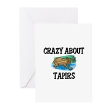 Crazy About Tapirs Greeting Cards (Pk of 10)