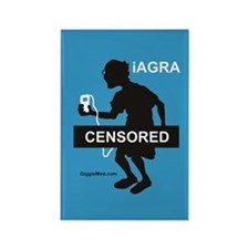 iAGRA 01 Rectangle Magnet